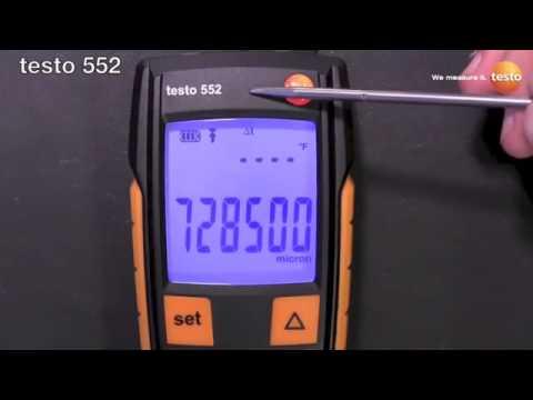 Testo 552 Digital Vacuum Gauge