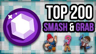Top 200 Smash u0026 Grab – WIN STREAK! SnG Gameplay [Brawl Stars]