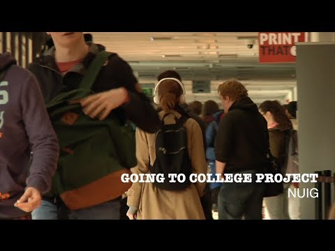 Going to College Project at NUI Galway