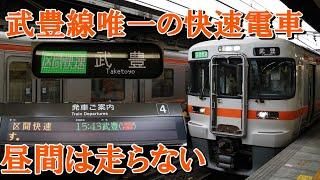 【武豊線を走る唯一の快速電車】武豊線へ直通する区間快速に乗ってみた