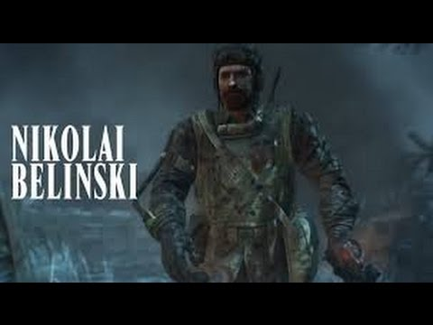 Six facts about Nikolai BELINSKI (Call of duty)