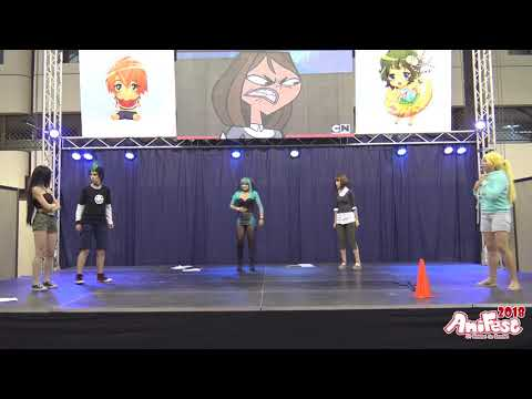 AniFest 2018 - Total Drama Island Group