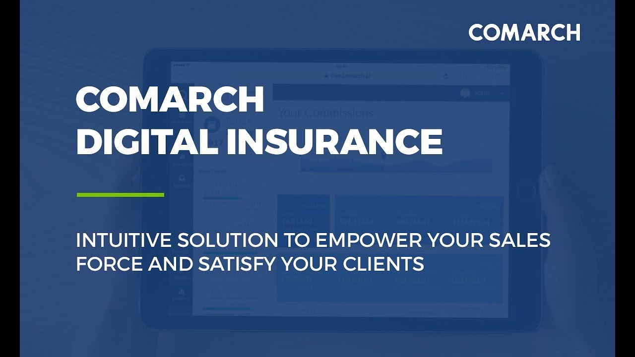 Digital insurance sales and distribution software | Comarch SA