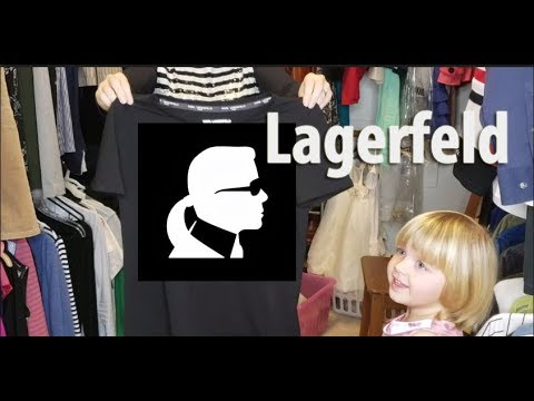 Джеки покупает у меня футболку Карла Лагерфельда / Karl Lagerfeld