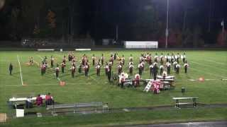 MBDA October 18 2014 South Portland High School Marching Band
