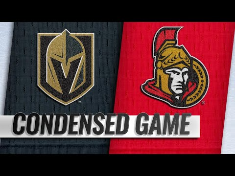 11/08/18 Condensed Game: Golden Knights @ Senators