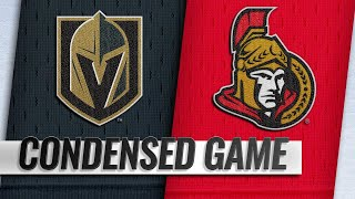 11/08/18 Condensed Game: Golden Knights @ Senators