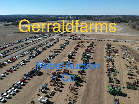 Farm Auction Used Farm Equipment Rebel Auction Co Gerraldfarms