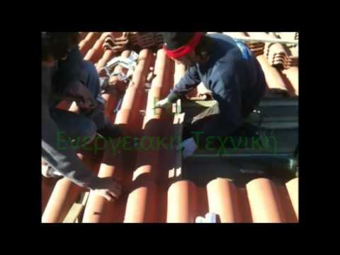 Energy-Greece Fotovoltaic panels installation 1