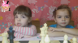 ШАХ и МАТ.  Видео уроки для детей.  Правила игры в ШАХМАТЫ для начинающих Детей.