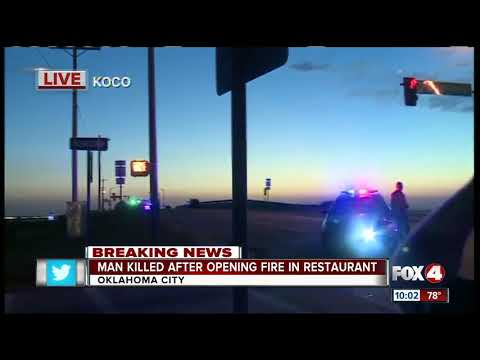 Gunman opens fire in Oklahoma City restaurant
