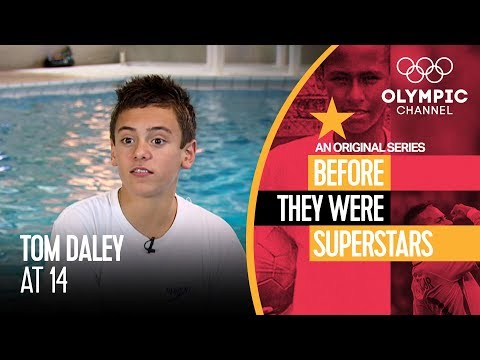 Tom Daley in his Early Teens Before Beijing 2008 | Before They Were Superstars