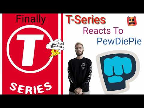 MIRACLE😱 T-Series Reacts to PewDiePie | Finally T-Series Reacts to PewDiePie | TSeries vs PewDiePie