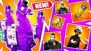 The NEW FORTNITE BIRTHDAY LLAMAS GIVE WHAT?! | Fortnite Birthday News!