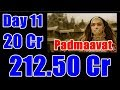 Padmaavat Box Office Collection Day 11