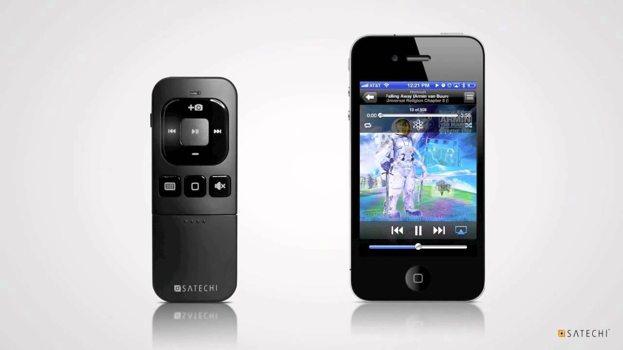 Satechi BT MediaRemote Bluetooth Multi-Media Remote Control