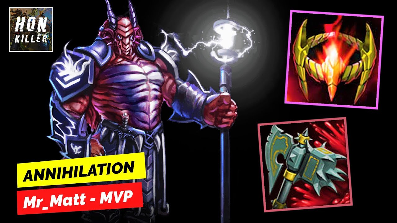 HoN Ravenor HYPERCROWN with BLOODBORNE MAUL - MVP