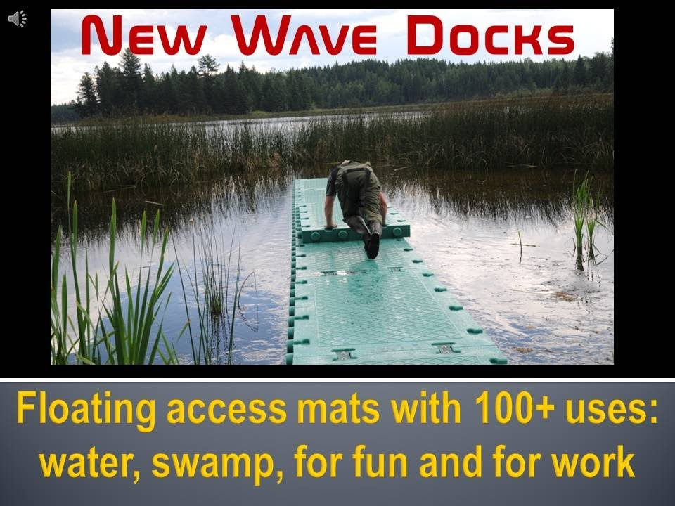 Floating Mats Dock Floats Water Mats Youtube