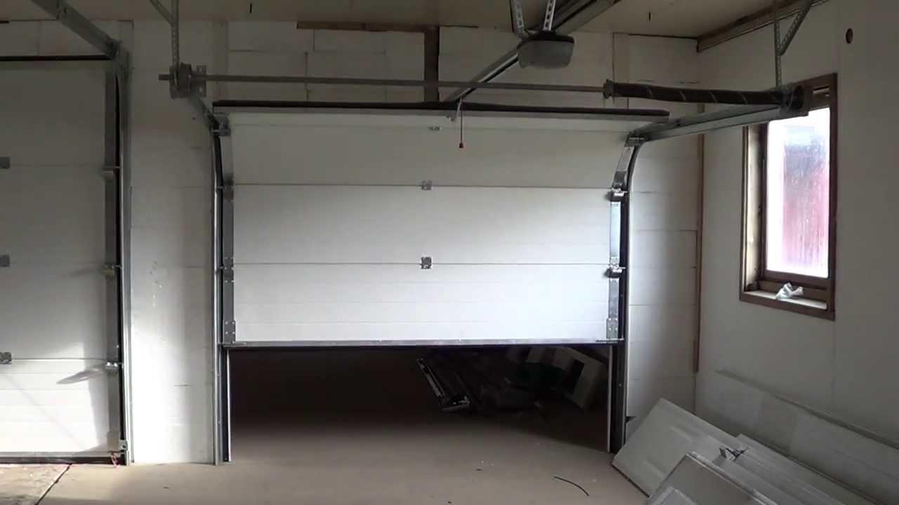 Doorforce Garasjeport 250x206cm Med Liftmaster Lm50k