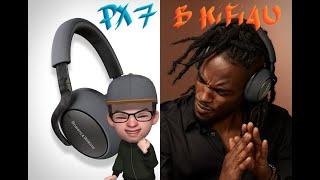 b&W PX7 Headphones 2019 (part 1). Распаковка и обзор B&W PX7