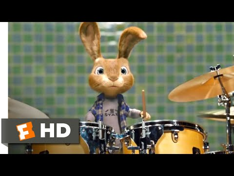 Hop (2011) - Playing the Drums Scene (4/10) | Movieclips