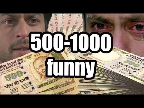 Actors Cry For 500 & 1000 Rs Notes (Funny)