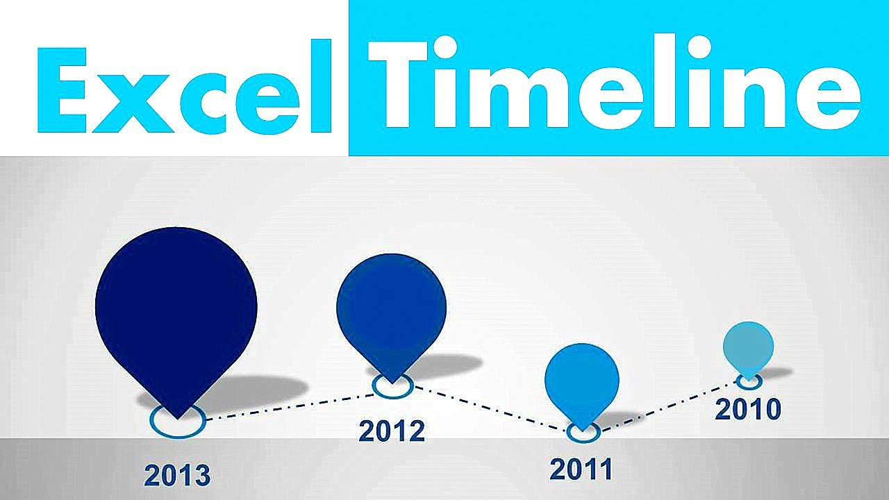 also how to create excel timeline in minutes youtube rh