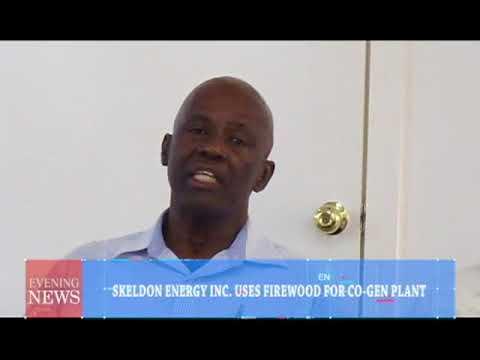 SKELDON ENERGY INC  USES FIREWOOD FOR CO GEN PLANT (15/05/2018)