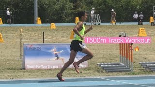 1500m Pace Track Workout