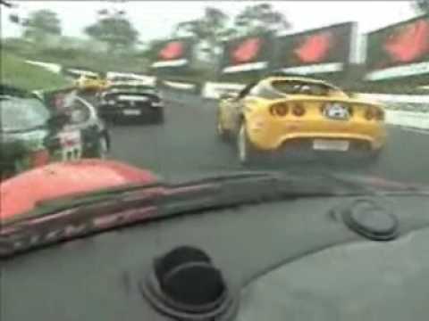 Lotus Trophy Bathurst 2005, Onboard with Dean Evans first lap.