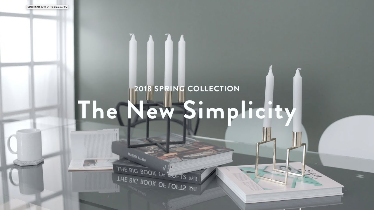 The New Simplicity
