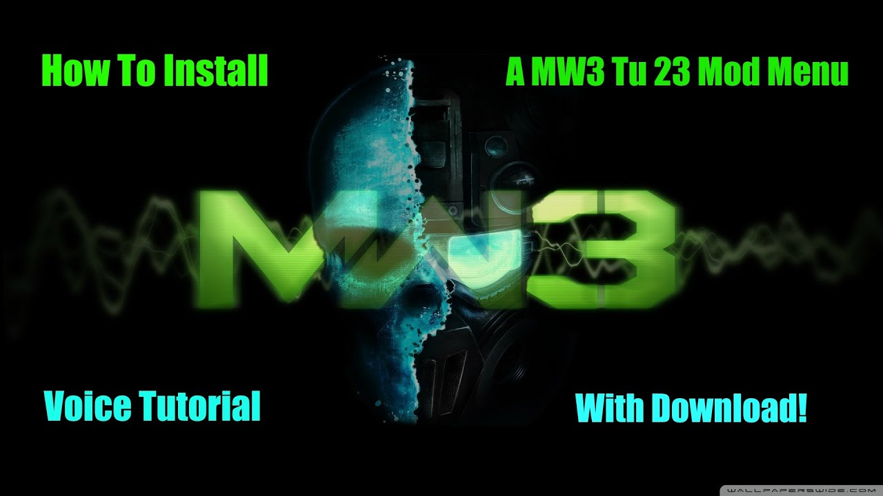 How To Install MW3 Tu 23 Mod Menu Rgh/Jtag + Download