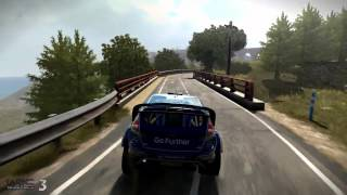 WRC 3 - RallyRACC Rally de España Gameplay -Work In Progress Footage