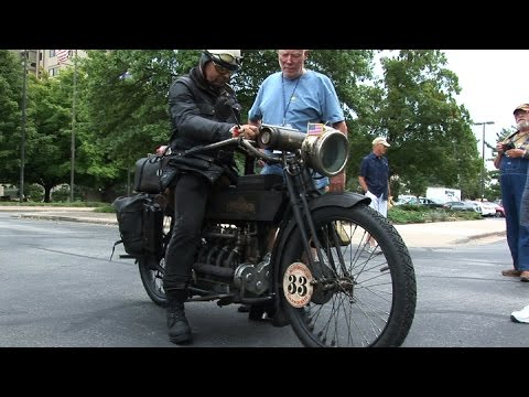 3000 MILES On A 1915 HENDERSON !!! - Motorcycle Cannonball 2016