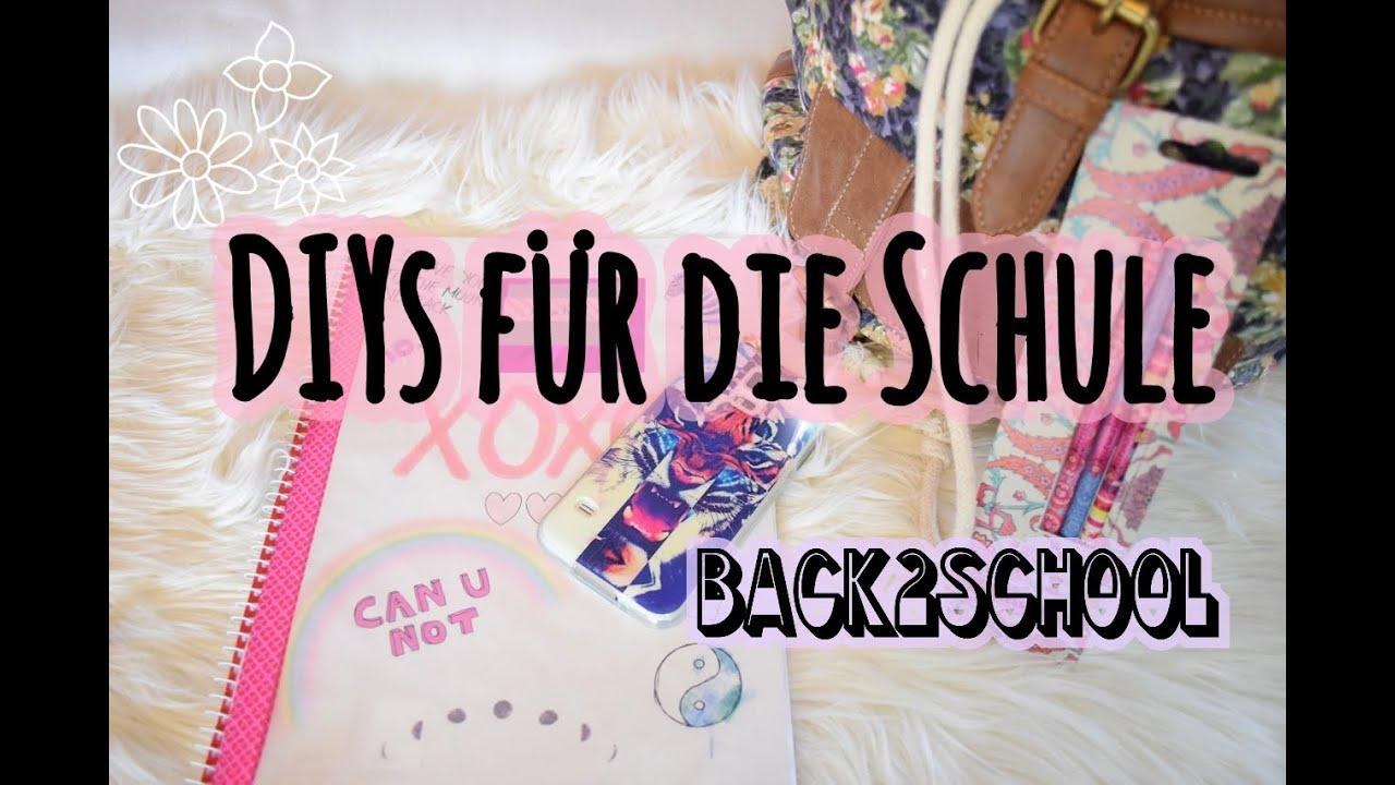 Einfache Diys Fur Die Schule Back2school 2 Youtube