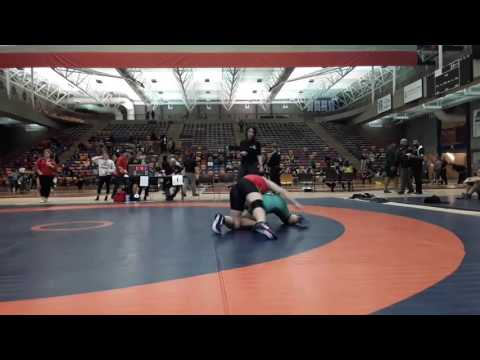 2016 Dino Invitational: 59 kg Tianna Kennett vs. Carly Baker