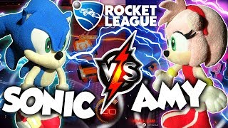 ABM: Sonic Vs Amy !! Rocket League Gameplay Match !! HD
