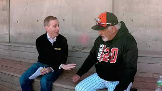 Kevin Maher speaks to 1986 World Series champ and former New York Mets second basemen Wally Backman