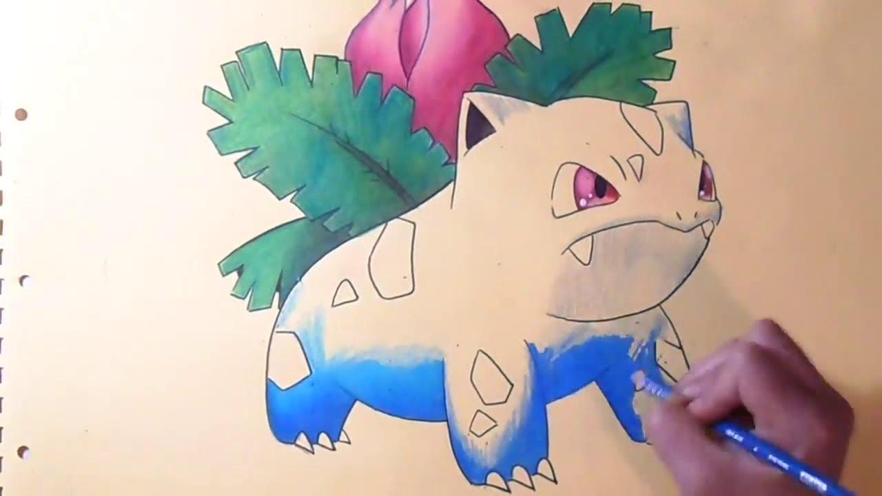 Coloriage Herbizarre Pokemon Youtube