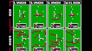 Tecmo Super Bowl 2014 (tecmobowl.org hack) - Vizzed.com - Week 10 - bobq vs hightoes - User video