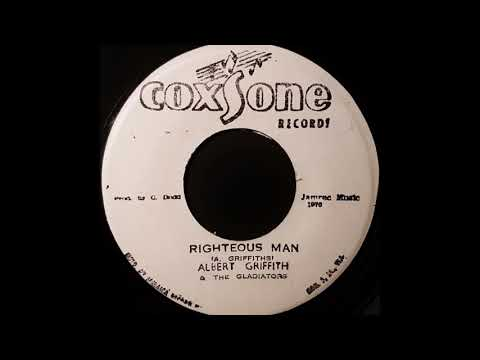 ALBERT GRIFFITHS & THE GLADIATORS - Righteous Man [1976]