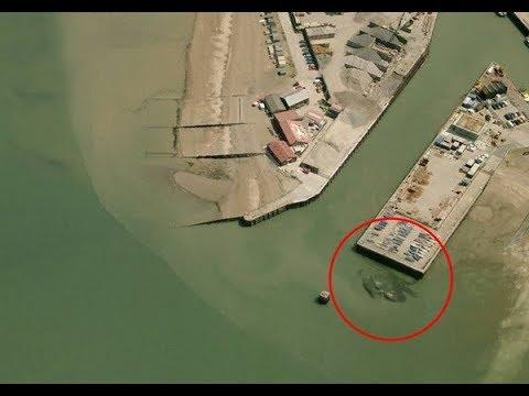10个Google地图中发现令人毛骨悚然的图片