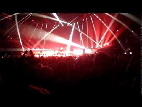 Muse - The 2nd Law: Unsustainable live @ Arena Riga (13/12/2012)