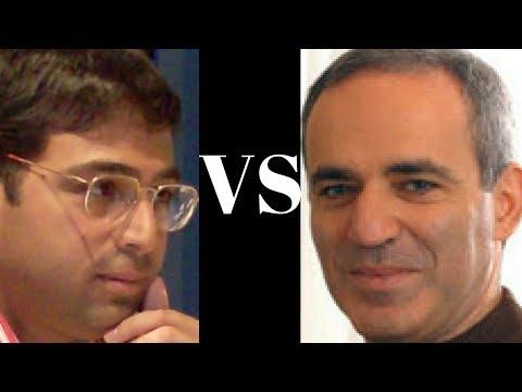 Amazing Instructive Blunder - Vishy Anand vs Garry Kasparov, 1996 Blitz Game - Sicilian