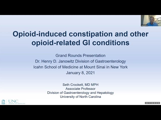 Opioid-induced Constipation and Other Opioid-related GI Conditions