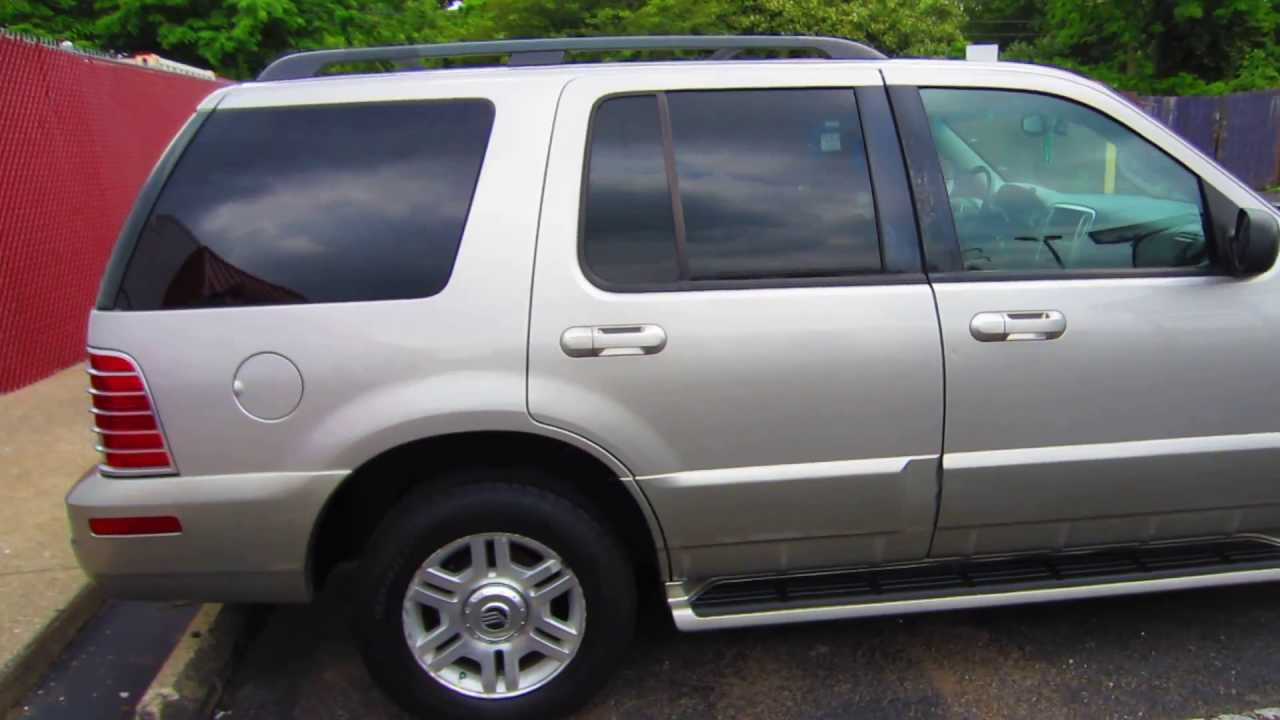 2003 MERCURY MOUNTAINEER 4.6L V8 PREMIER AWD - Lexington ...