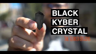 Finding a BLACK KYBER CRYSTAL In Galaxy's Edge - Can Peter Find Batuu's Most Elusive Gem?