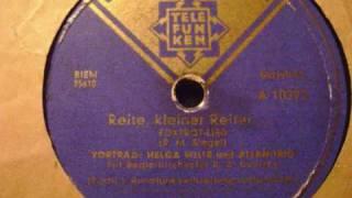 Reite kleiner Reiter - Helga Wille und Allan Trio