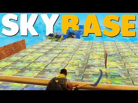 WORLDS BIGGEST SKYBASE (Fortnite Battle Royale) thumbnail
