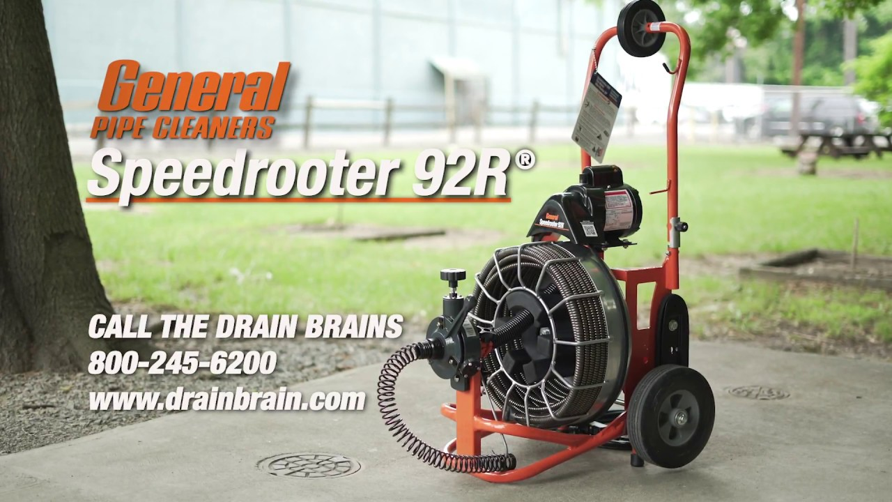 French - Speedrooter 92R Instructional Video